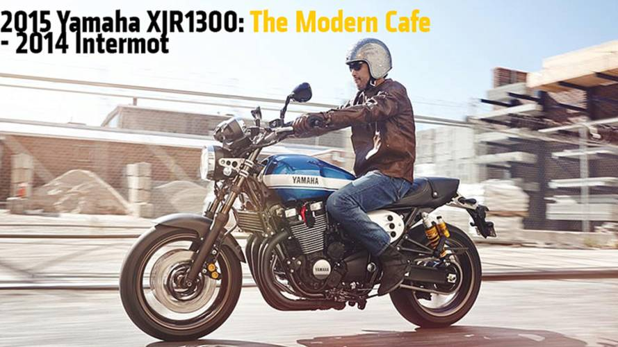 2015 Yamaha XJR1300: The Modern Cafe - 2014 Intermot