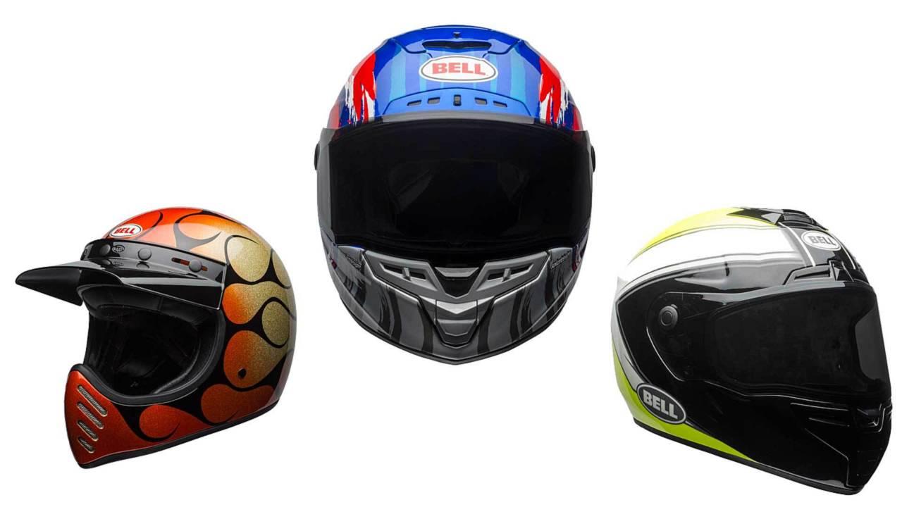 Bell Announces Flashy New Helmet Line for Summer