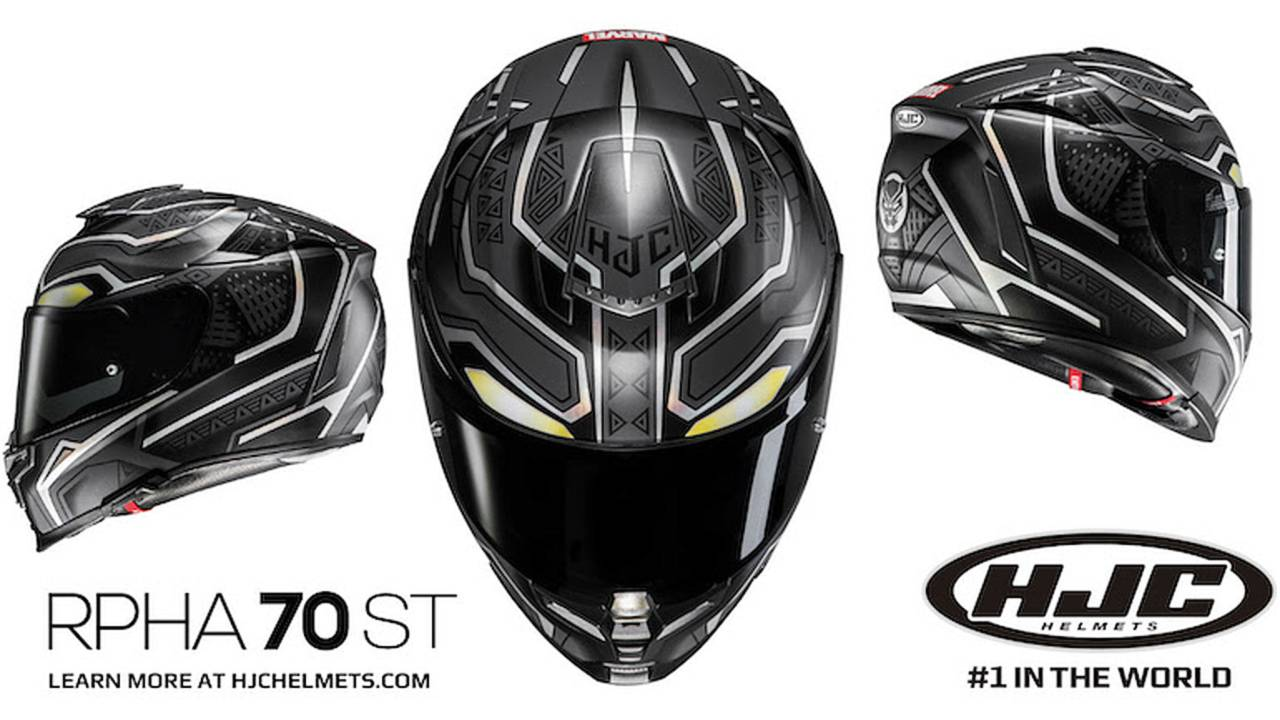 HJC Unveils Black Panther-Themed Helmet