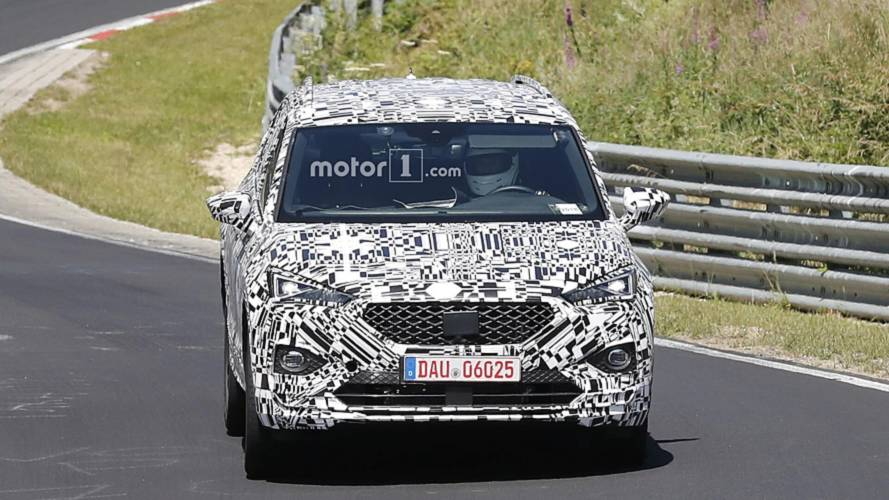 2019 SEAT Tarraco spy photos