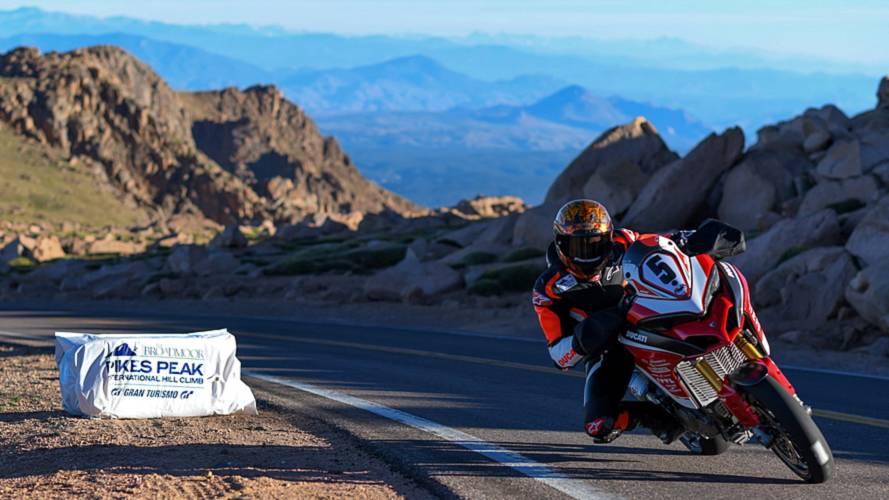Ducati recupera el cetro de la subida a Pikes Peak