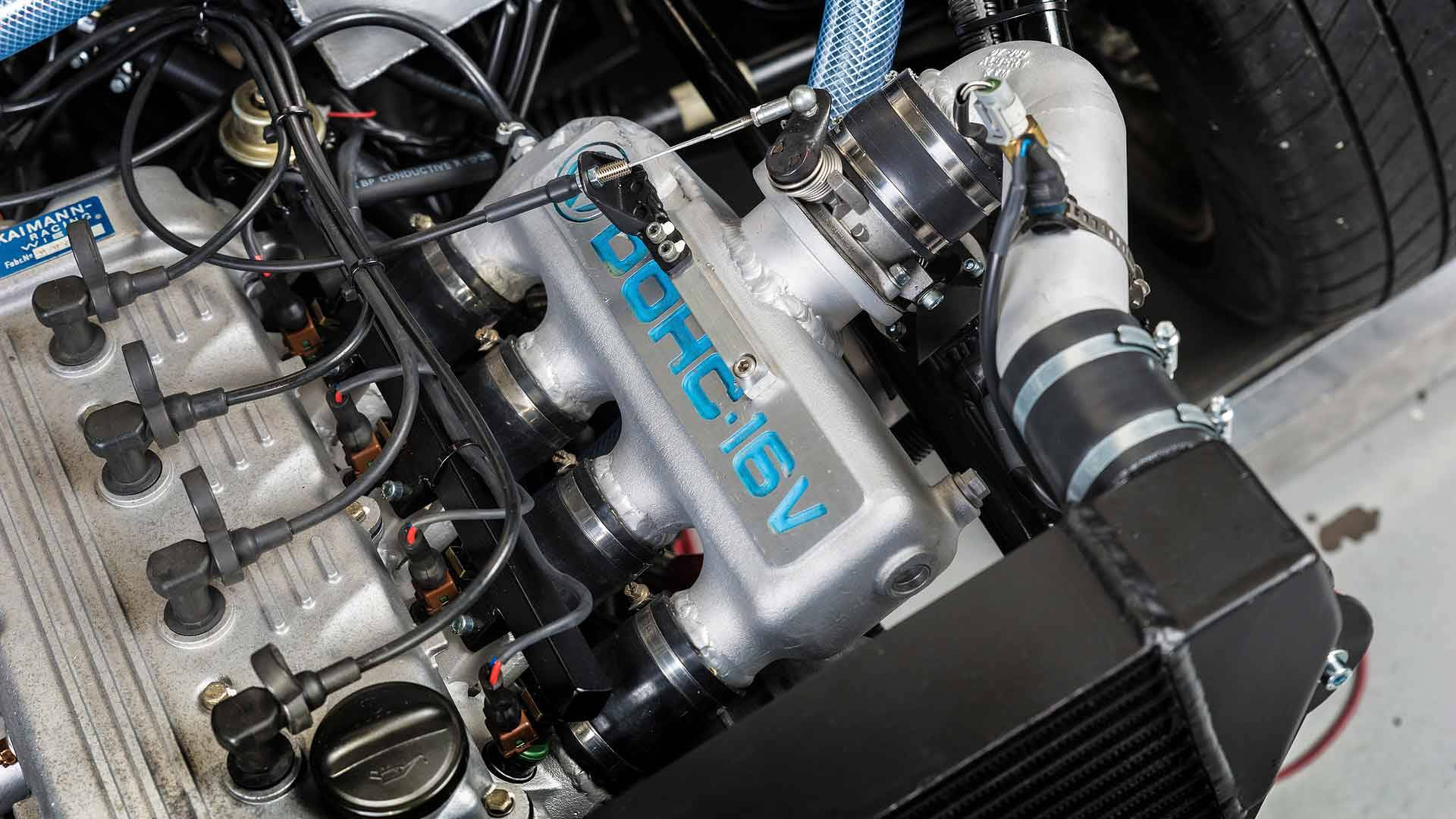 Twin Engined Vw Gti Pikes Peak Racer Restored To Be Rally Ready Engine Cooling System