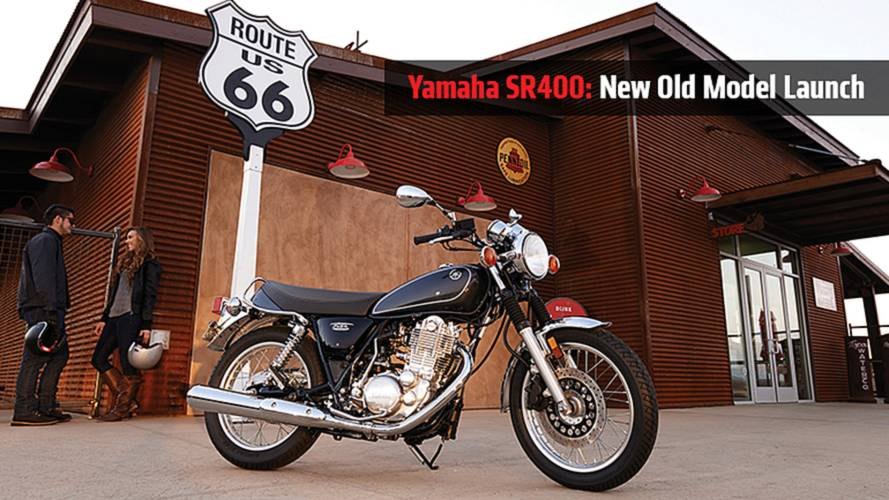 Yamaha SR400: The New Old Model Launch
