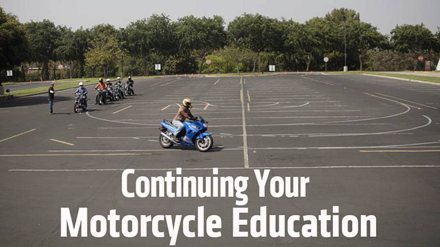 Continuing Your Motorcycle Education