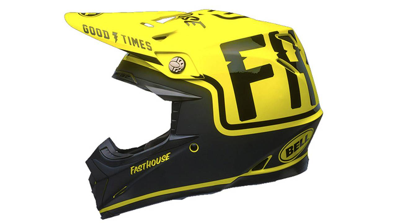 Bell, Fasthouse Join Forces to Produce Rad Helmets