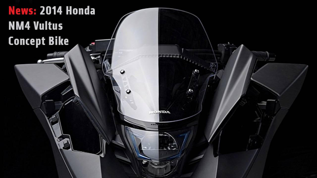 News: 2014 Honda NM4 Vultus Concept Bike