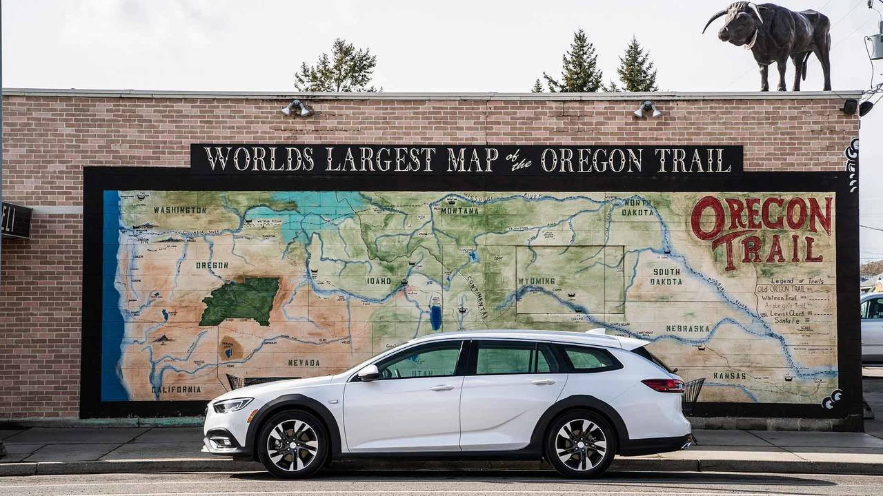 2018 Buick Regal TourX Oregon Trail Drive