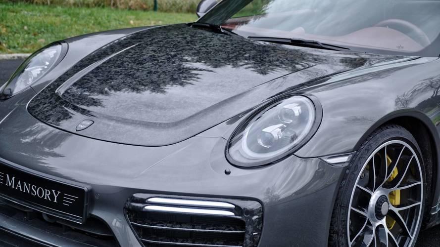 Mansory'den Porsche 911 Turbo S