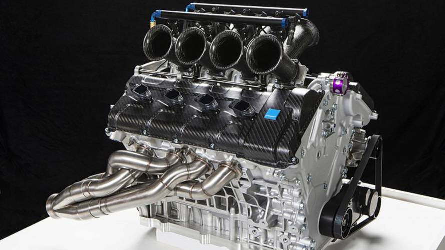 Listen to the Beautiful Sounds of a High-Revving Yamaha 650hp V8