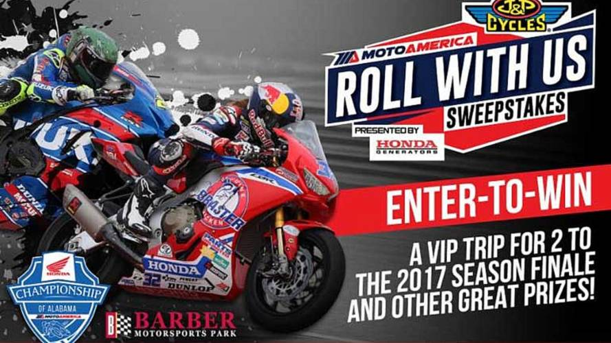 Win a Trip to MotoAmerica Finale at Barber Motorsports Park