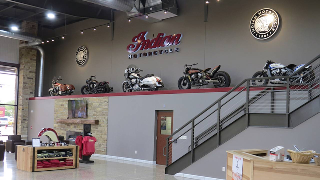 Indian Motorcycle Opens Experience Center in Iowa
