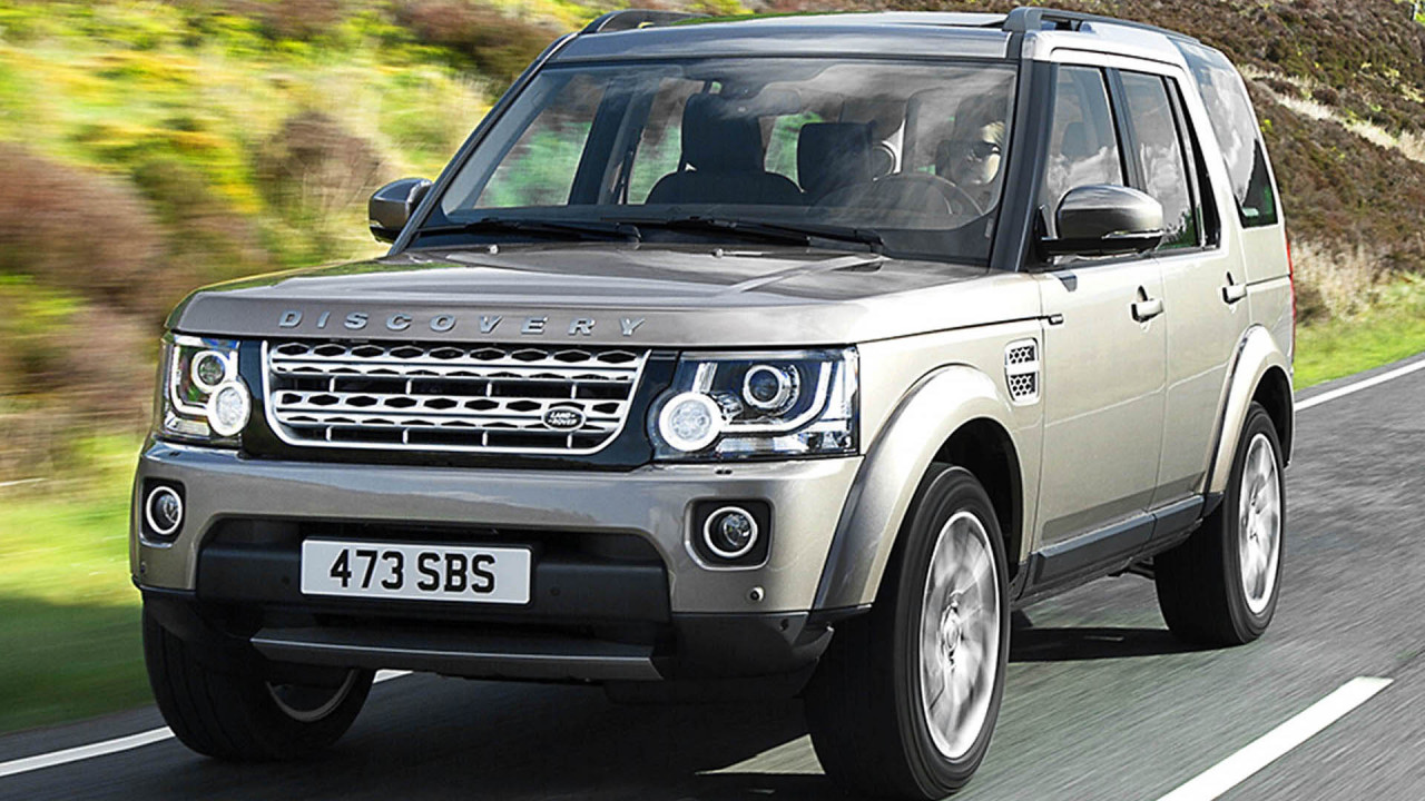 Platz 9: Land Rover Discovery