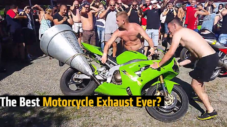 The Best Motorcycle Exhaust Ever?