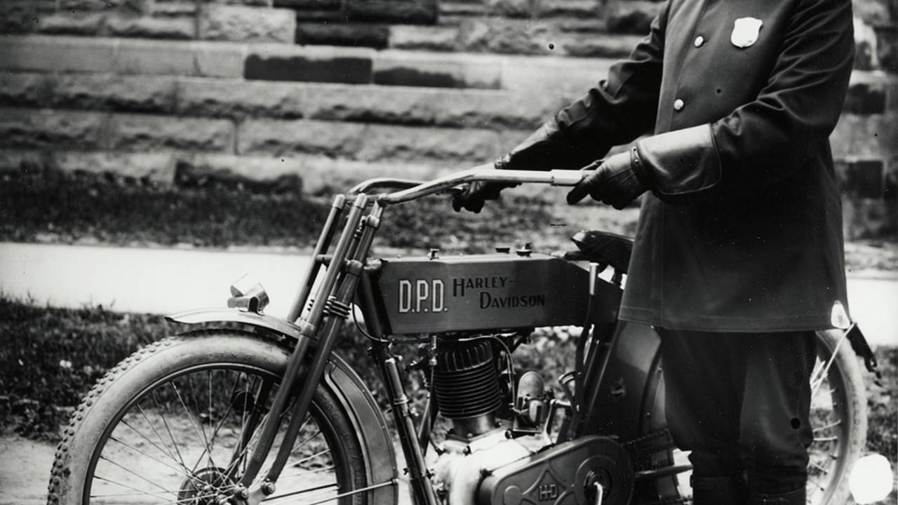 Officer from the Detroit Police Department, circa 1915. Photo courtesy of the HD Archives.