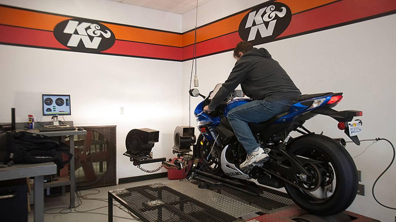 Dyno Tuning The Suzuki GSX-R Project Bike