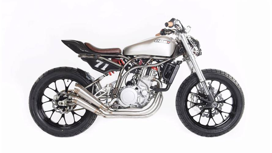CCM Unveils Spitfire Flat Tracker at UK's Motorcycle Live