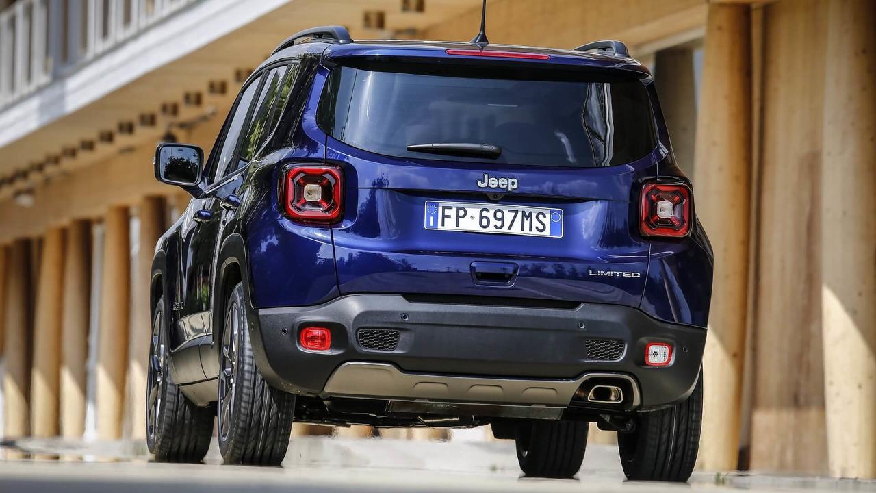 2019 Jeep Renegade Euro Spec facelift