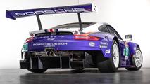 Porsche 911 RSR decoraciones clásicas Le Mans 2018