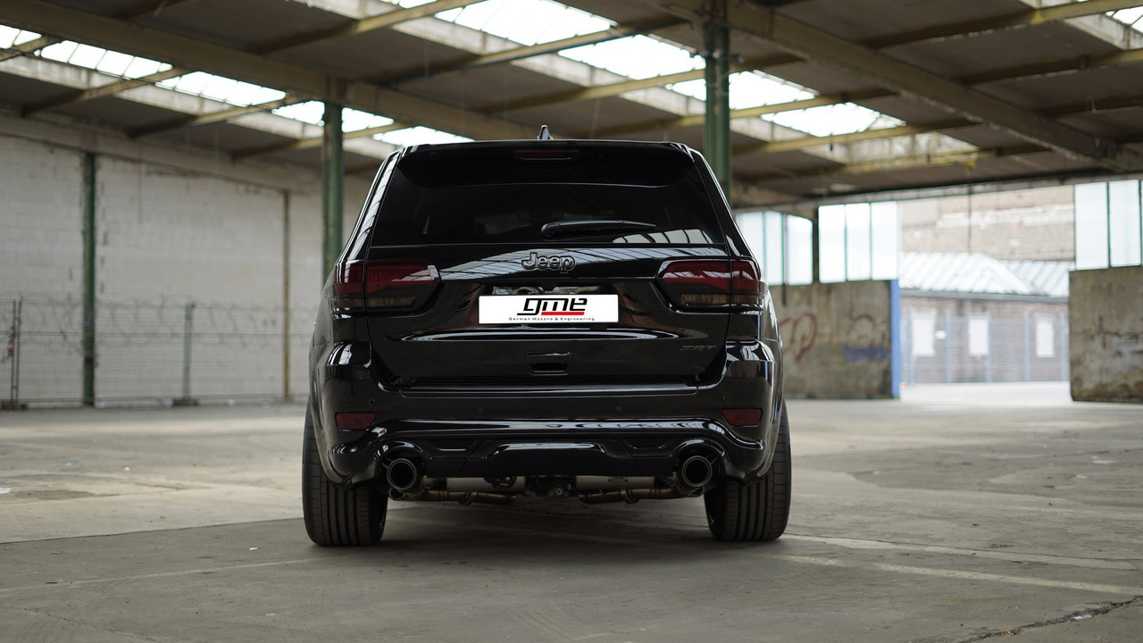 jeep grand cherokee srt gets sinister tuning package in europe. Black Bedroom Furniture Sets. Home Design Ideas