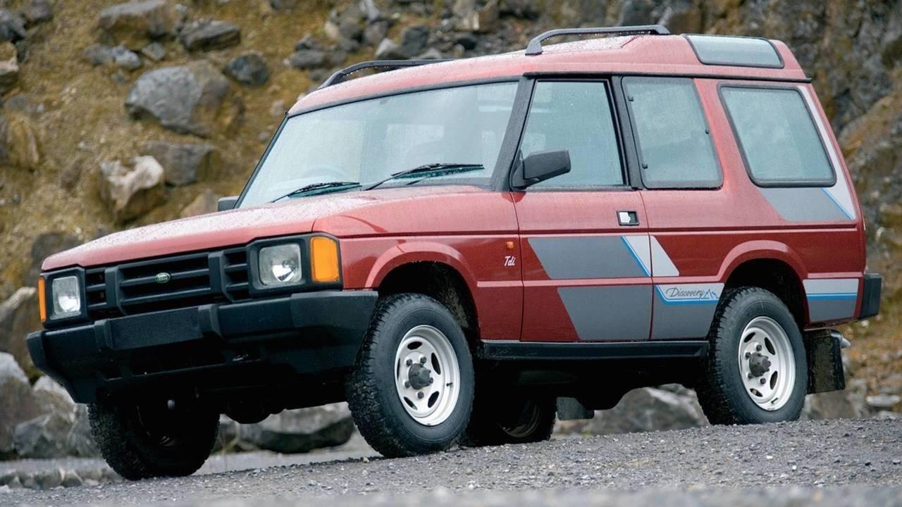 1989 Land Rover Discovery 1. Jenerasyon