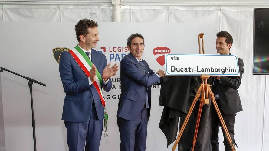 Nuevo centro logístico Ducati-Lamborghini