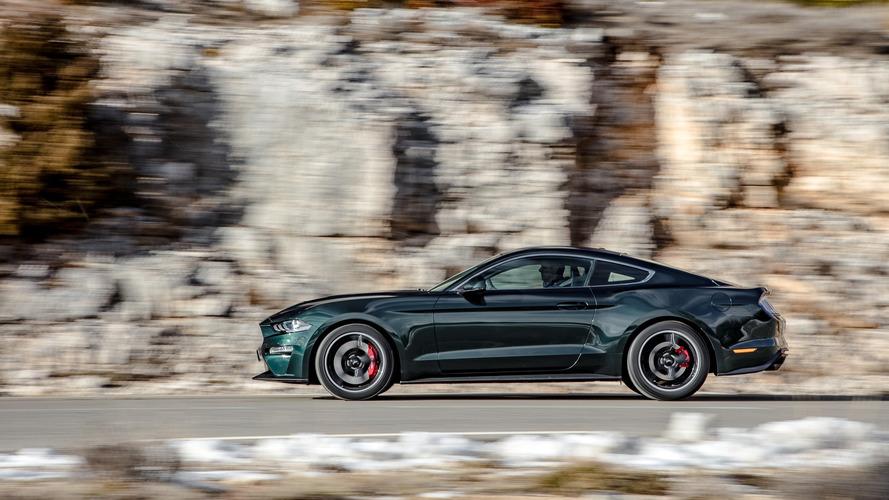 Ford Mustang Bullitt EU spec
