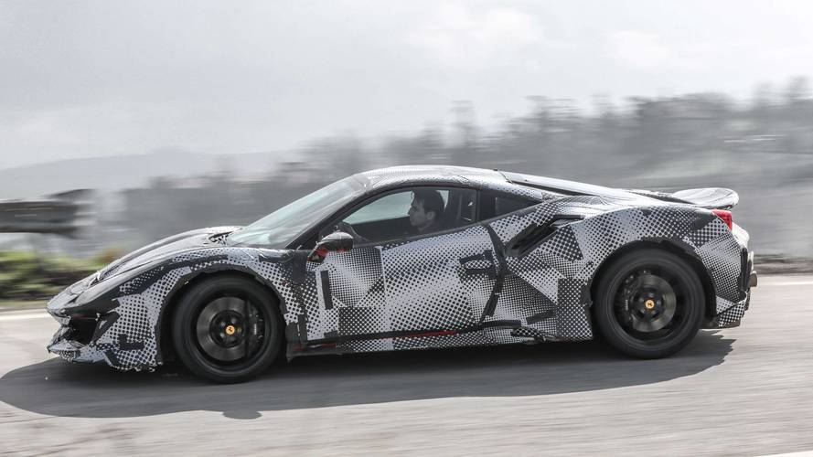 2018 Ferrari 488 Pista prototype
