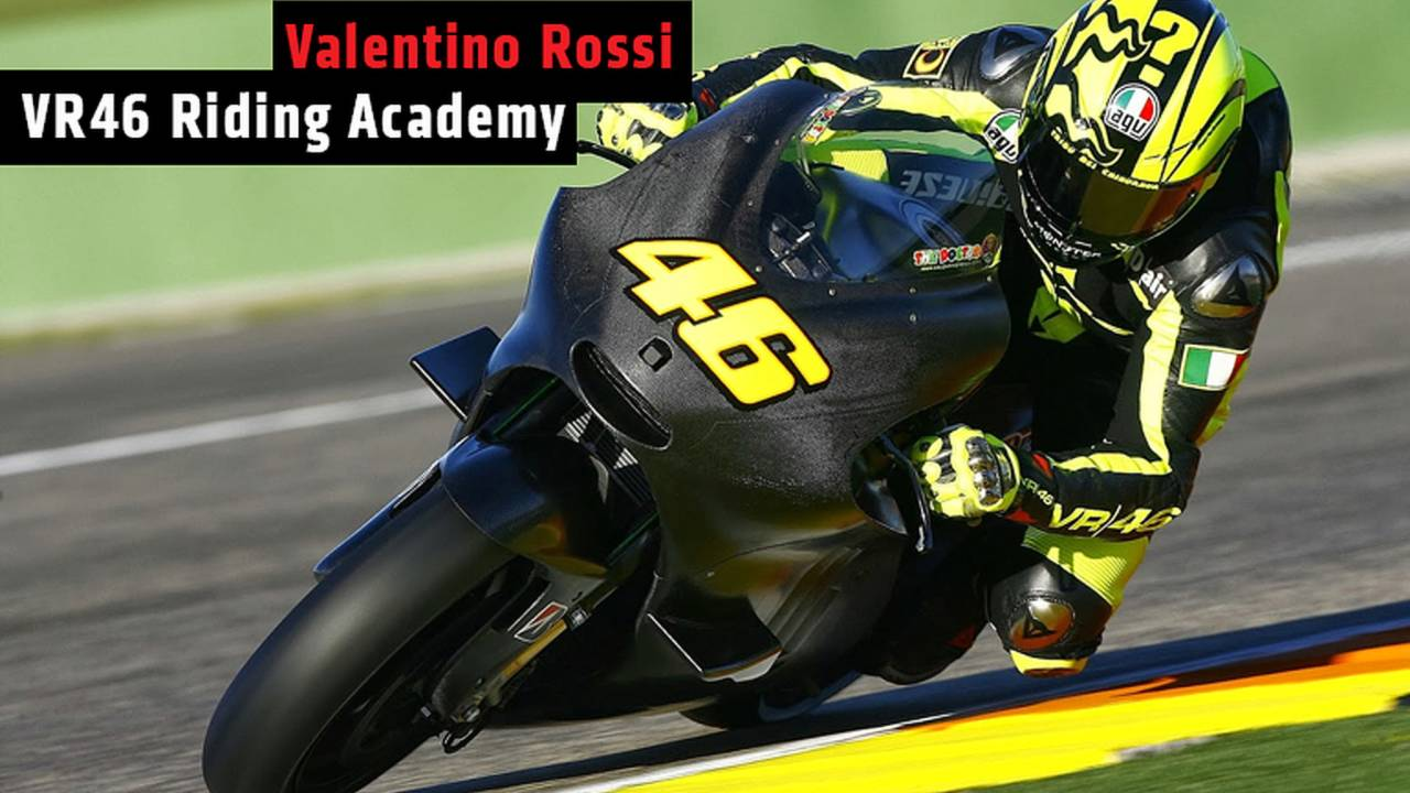 Valentino Rossi VR46 Riding Academy