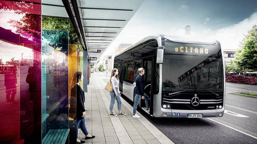 Mercedes-Benz показал электрический автобус eCitaro