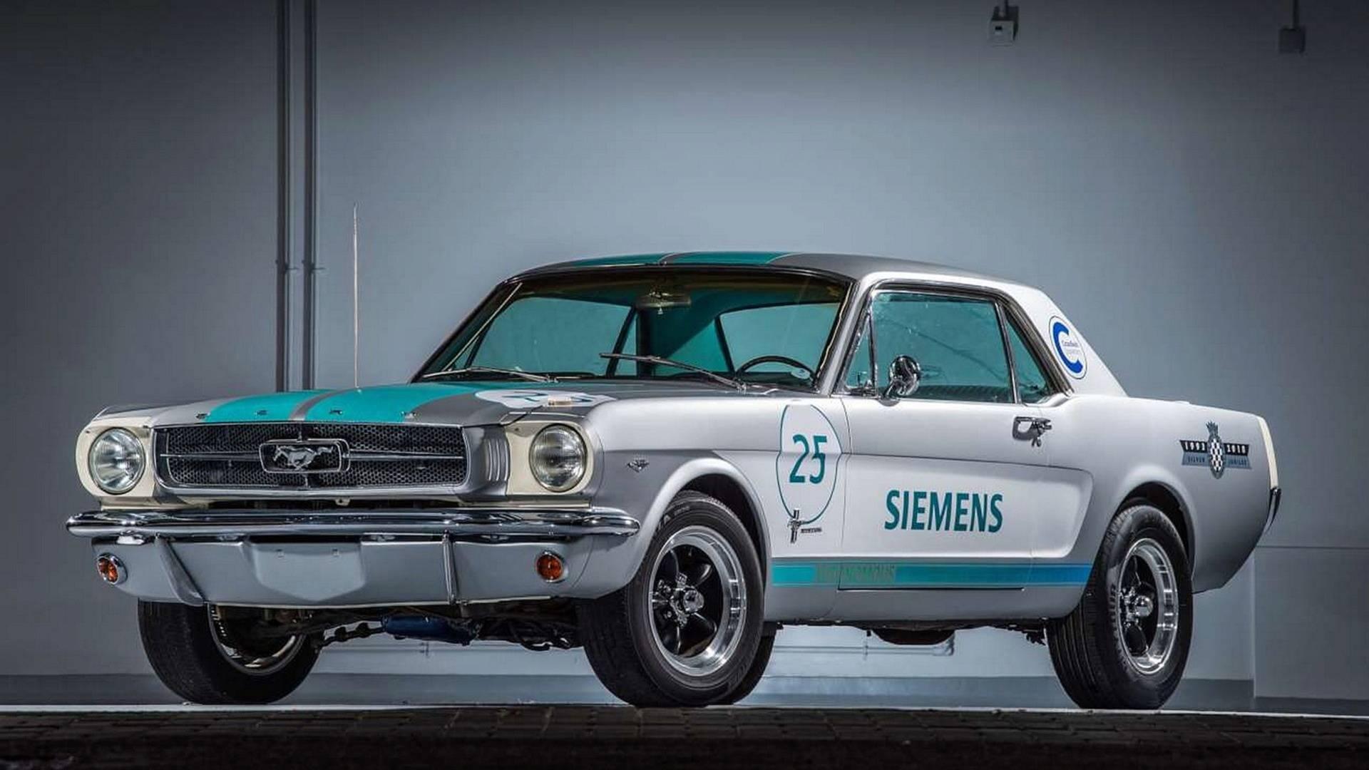 Ford mustang un prototipo a guida autonoma a goodwood
