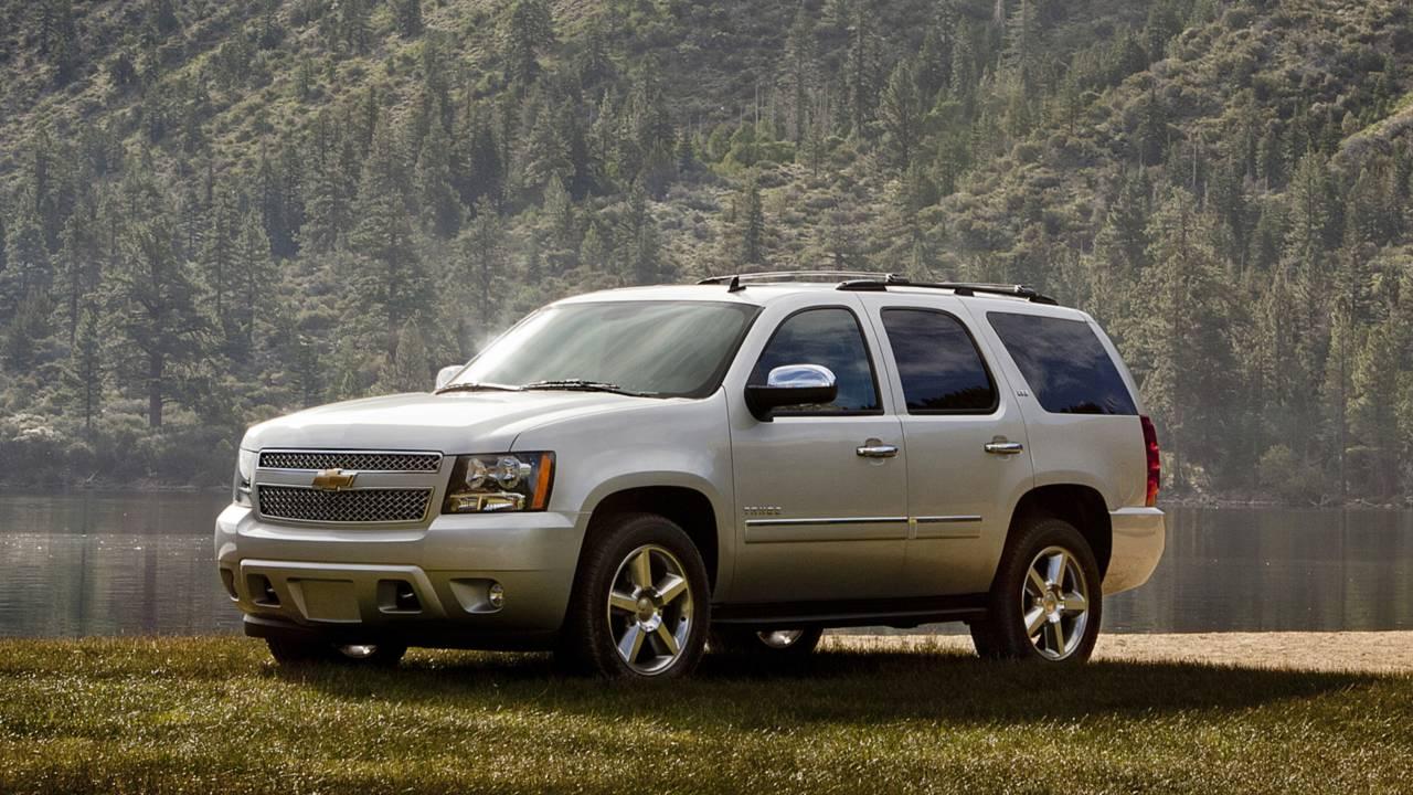 3. Chevrolet Tahoe –13,645 miles