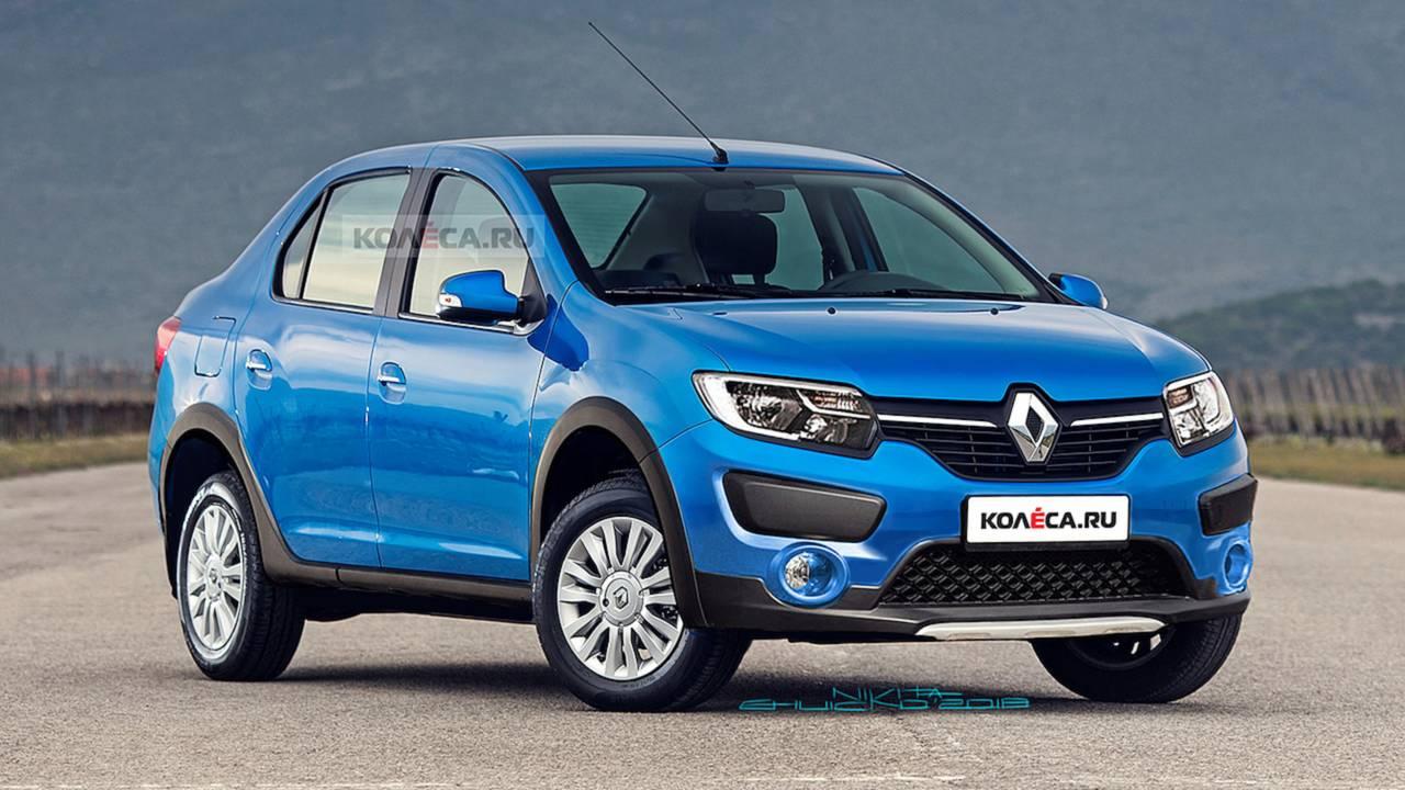 Projeção Renault Logan Cross