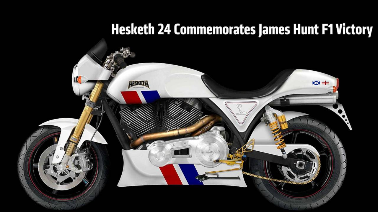 First Look: Hesketh 24 — New Superbike Commemorates James Hunt F1 Victory