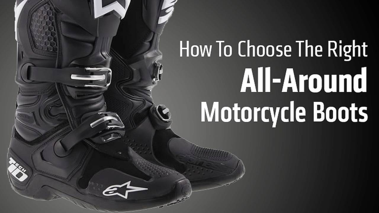 How To Choose The Right All-Around Motorcycle Boots
