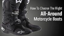 how to choose the right all around motorcycle boots