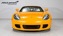 Unique Porsche Carrera GT Signal Yellow