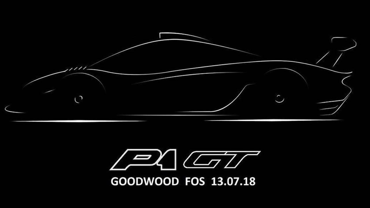 McLaren P1 GT teaser