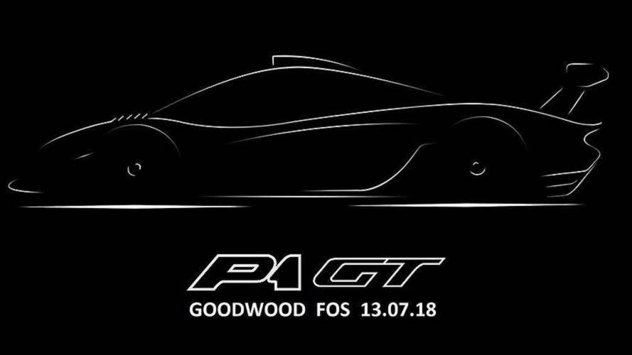 McLaren P1 GT Will Premiere Its Long-Tail Rear At Goodwood