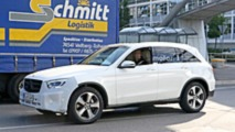 Mercedes GLC restylé photos espions