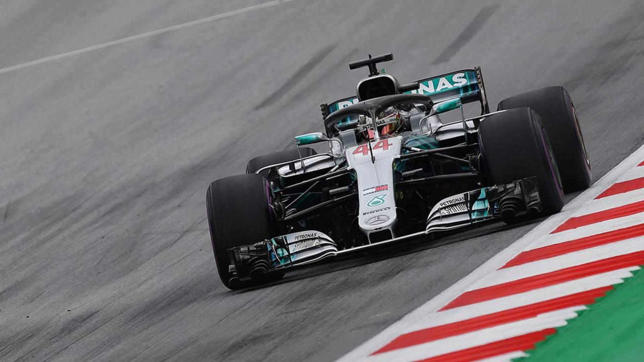 F1 Austrian Gp 2018 Lewis Hamilton Mercedes Amg W09 Motor1 Com Photos