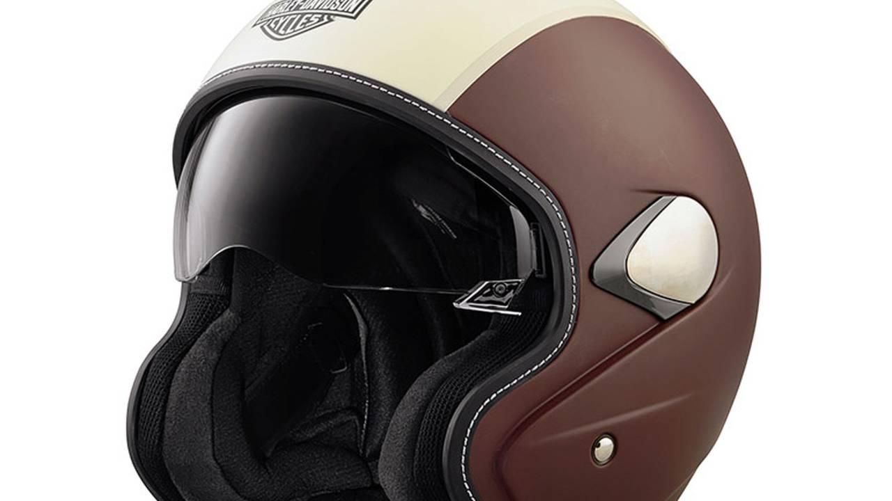 Harley-Davidson Mason's Yard Sun Shield S05 3/4 helmet, $300