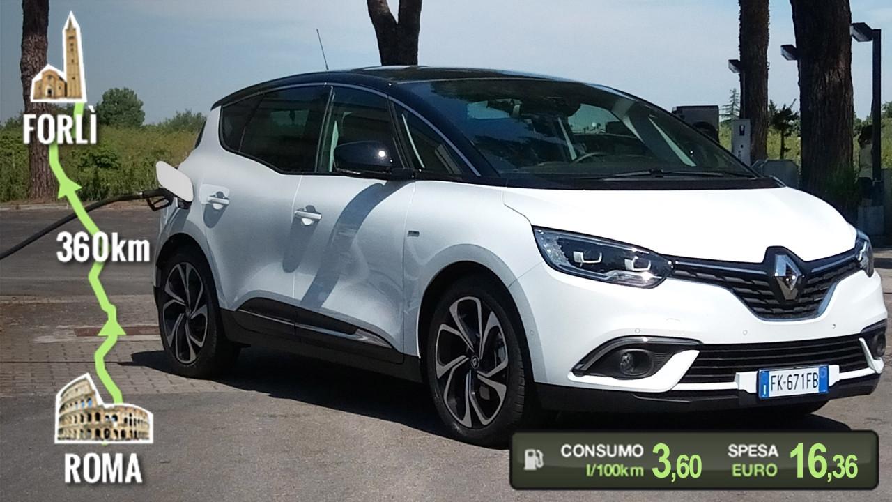 [Copertina] - Renault Scenic Hybrid Assist, la prova dei consumi reali