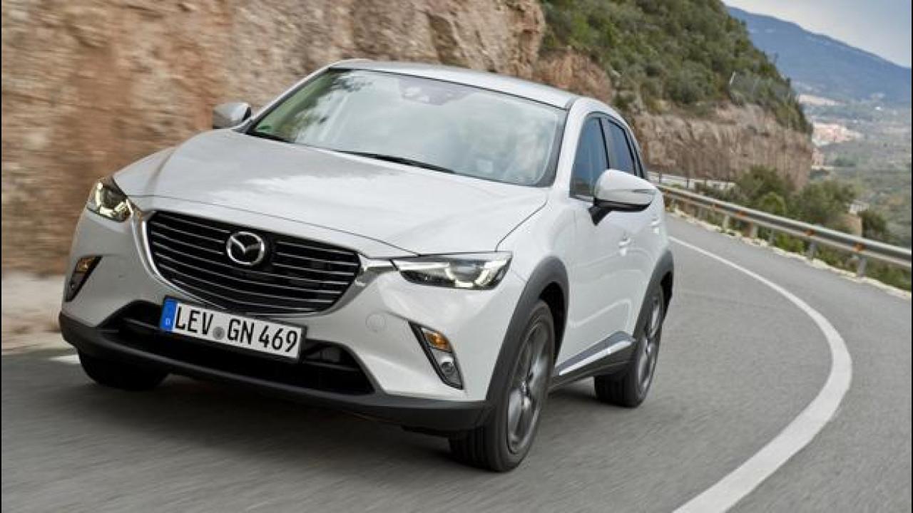 [Copertina] - Mazda CX-3, un piccolo SUV con grandi ambizioni
