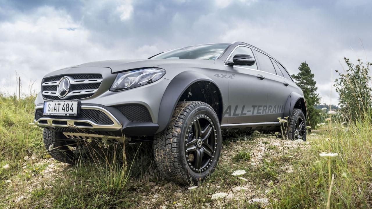 [Copertina] - Mercedes E All-Terrain 4x4², dove osa la Classe G