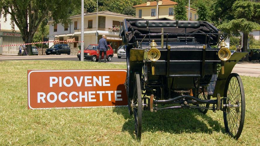 La prima auto immatricolata in Italia ha riacceso il motore
