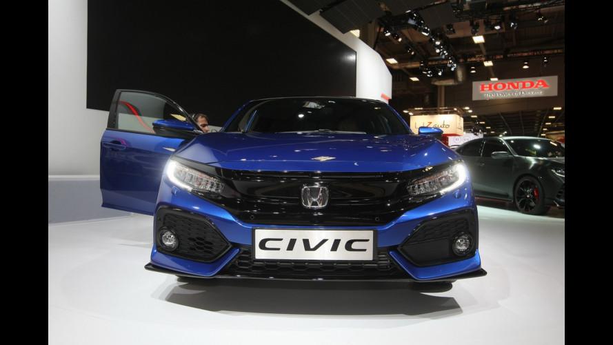 Honda al Salone di Parigi 2016