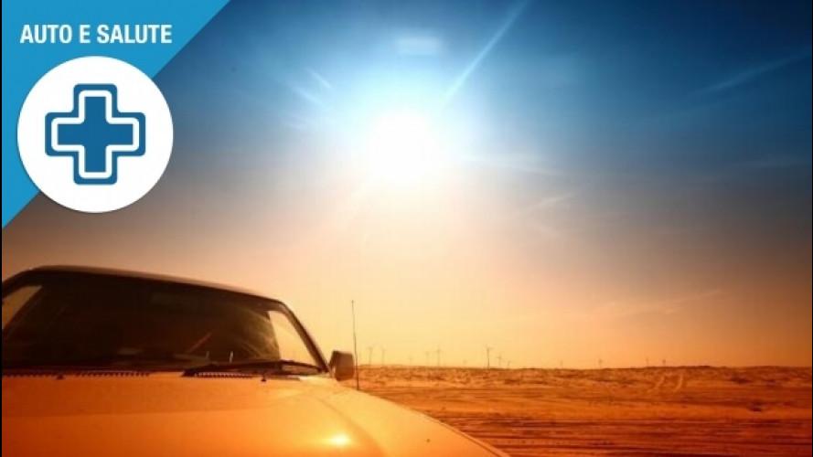 Protezione dai raggi solari, anche in auto non bisogna trascurarla