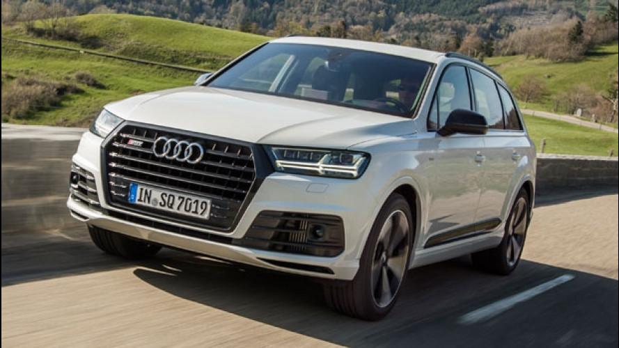 Audi SQ7, il SUV