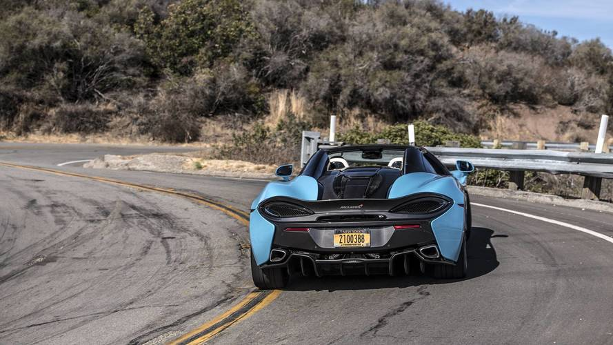 2018 Mclaren 570s Spider Review Go On Take Your Top Off