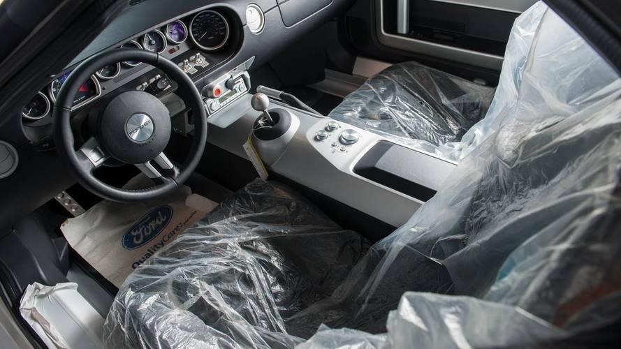 Un Ford GT  de 2016, a subasta